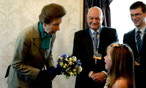 Princess opens our new advice centre