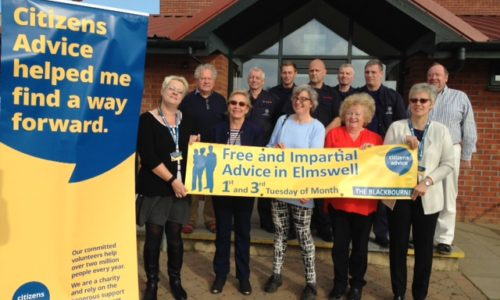 Thanks to funding from Elmswell Organisations. There is now a Citizens Advice Outreach in Elmswell.